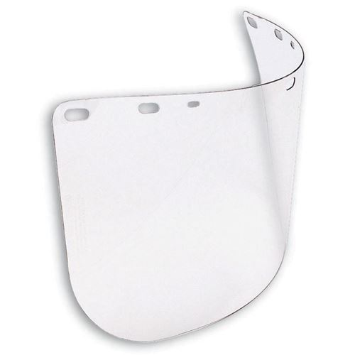 Picture of DSI Clear Polycarbonate Pre-Formed Faceshield