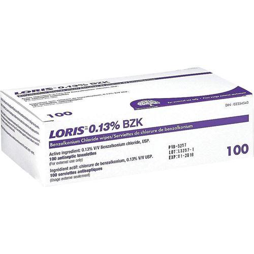 Picture of DSI Benzalkonium Antiseptic Towelettes