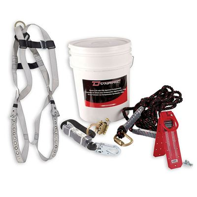 Picture of DSI Roofer's Kit with Tongue Buckle Harness