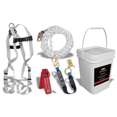 Picture of DSI Roofer's Kit with Pass Through Harness