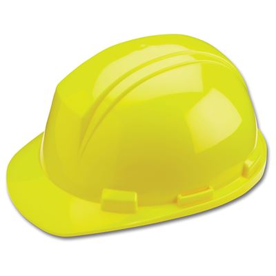 Picture of DSI Yellow Mont-Blanc Hard Hat, Type 2 - Ratchet Suspension
