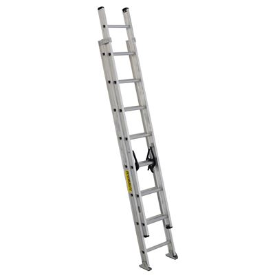 Picture of Featherlite 36' Series 3200D Extra Heavy Duty Aluminum Extension Ladder