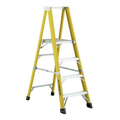 Picture of Featherlite 6' Series 6500 Extra Heavy Duty Fibreglass Platform Step Ladder