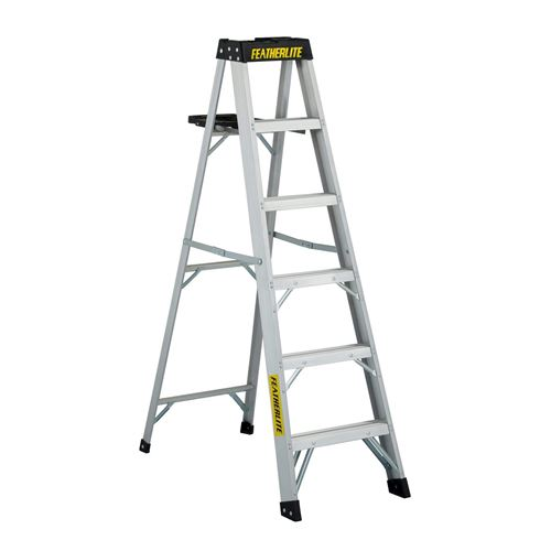 Picture of Featherlite Series 3400 Extra Heavy Duty Aluminum Step Ladder