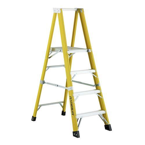 Picture of Featherlite Series 6500 Extra Heavy Duty Fibreglass Platform Step Ladder