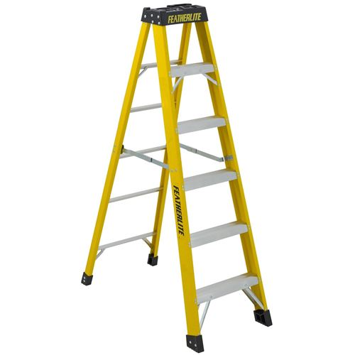 Picture of Featherlite Series 6900 Extra Heavy Duty Fibreglass Step Ladder