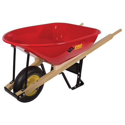 Picture of Garant® True Temper Industrial Steel Wheelbarrow