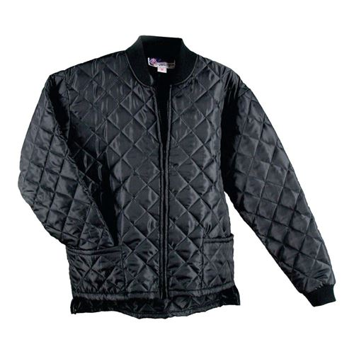 Picture of Ground Force® Style 784GF Black  Quilted Freezer Jacket