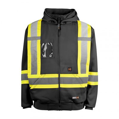 Picture of Holmes Workwear® Black 116506 Hi-Vis Heated Hoodies
