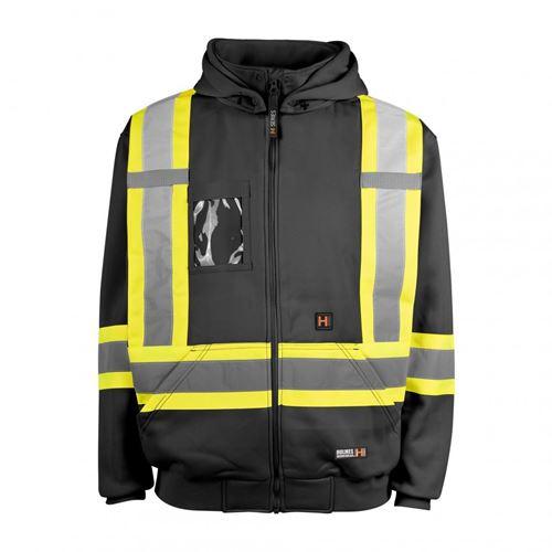 Picture of Holmes Workwear® Black 116506 Hi-Vis Heated Hoodies