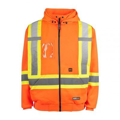 Picture of Holmes Workwear® Orange 116506 Hi-Vis Heated Hoodies