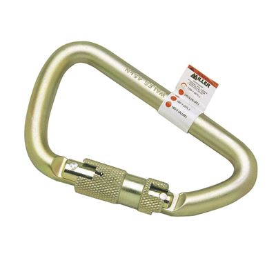 Picture of Miller 17D-1 Steel Carabiner with Twist Lock Gate