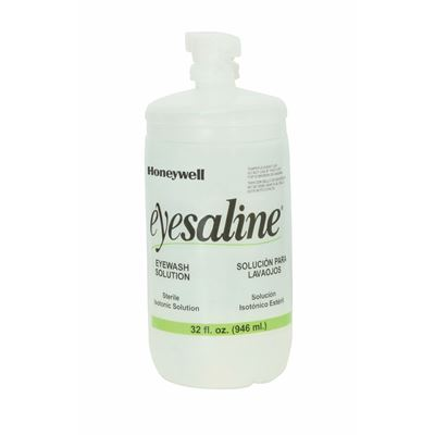 Picture of Honeywell 32 oz. (1L) Eyesaline® Bottle with Twist Off Tab