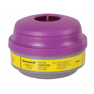Picture of North by Honeywell Acid Gas & Organic Vapour Cartridge with P100 Filter