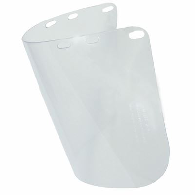 """Picture of Honeywell Clear 0.04"""" Polycarbonate Pre-Formed Faceshield"""