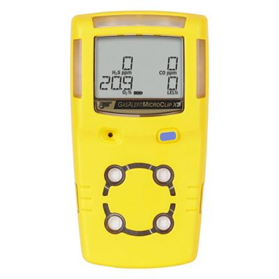 Picture of BW GasAlertMicroClip X3 Multi-Gas Detector