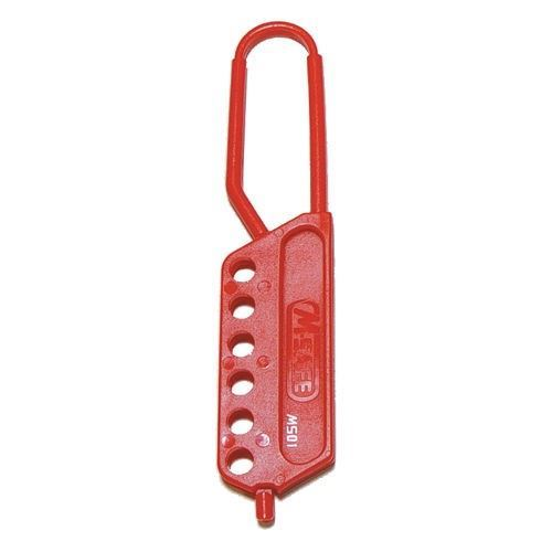 Picture of Honeywell MS01 Hi-Viz Red Dielectric Lockout Hasp