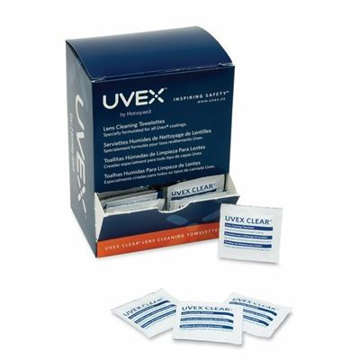 Picture of Uvex Clear® Lens Cleaning Moist Towelettes