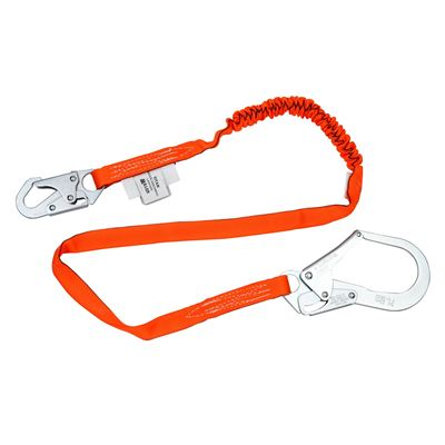 Picture of Miller 6' Titan Single Leg Tubular Shock-Absorbing Lanyards