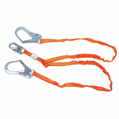 Picture of Miller 6' Titan Double Leg Tubular Shock-Absorbing Lanyards