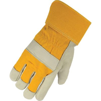 Picture of Horizon® Deluxe Cowgrain One-Piece Palm Lined Work Gloves