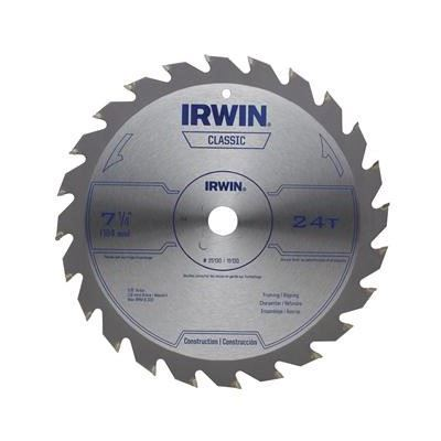 """Picture of Irwin® 7-1/4"""" Classic Series Circular Saw Blade - 24 TPI"""
