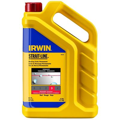 Picture of Irwin® 5 lbs. Strait-Line Standard Marking Chalk - Standard Red