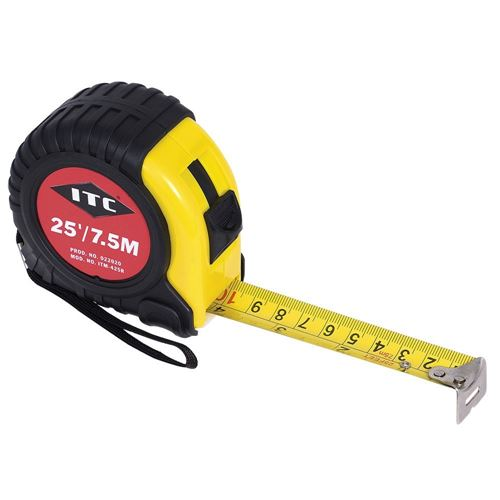 """Picture of JET 1"""" x 25' SAE/Metric Tape Measure"""