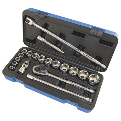 Picture of JET S.A.E. Socket Wrench Set - 6 Point - 20 Piece