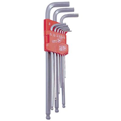 Picture of JET SA.E. Extra Long Ball Nose Hex Key Set - 9 Piece