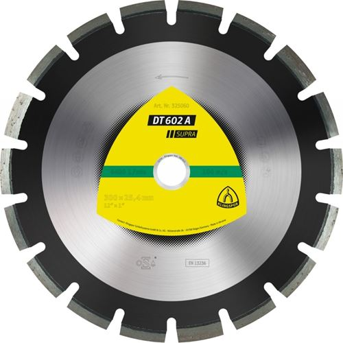 """Picture of Klingspor DT602A Diamond Blade - 14"""""""