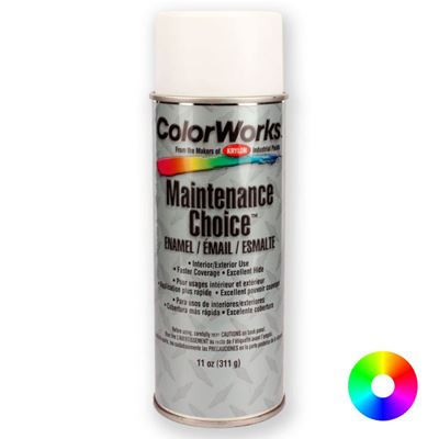 Picture of Krylon® Industrial ColorWorks™ Maintenance Choice™ Enamel Aerosol