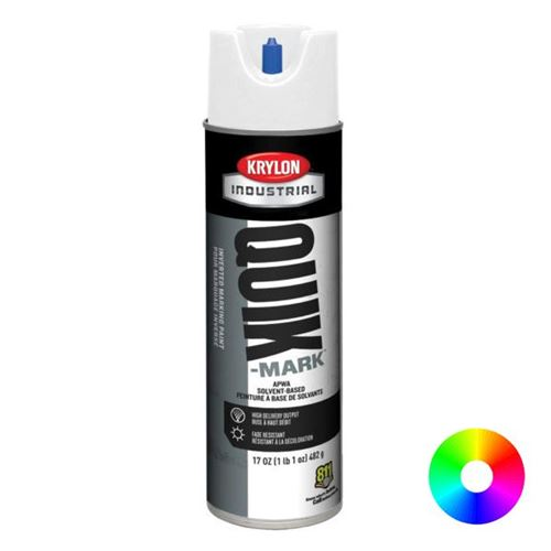 Picture of Krylon® Quik-Mark™ Solvent-Based Inverted Marking Paint
