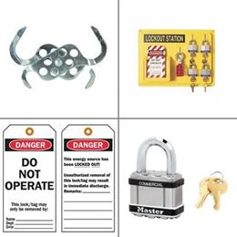 Picture for category Lockout and Tagout