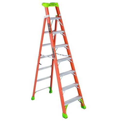 Picture of Louisville Cross Step FXS1500 Extra Heavy Duty Fibreglass Step-to-Shelf Ladder