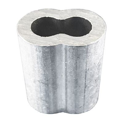 """Picture of Macline Aluminum Oval Sleeves - 1/8"""""""