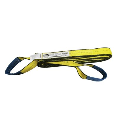 """Picture of Macline EE2-906 2 Ply, Type 4 (Twisted Eyes) Web Sling - 6"""" x 20'"""