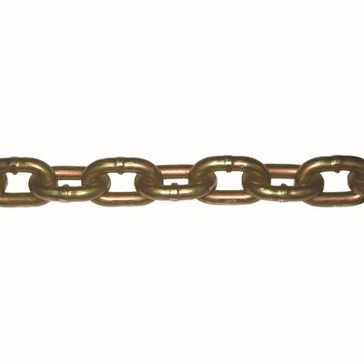 "Picture of Macline 7/16"" Grade 70 Gold Chromate Transport Chain"