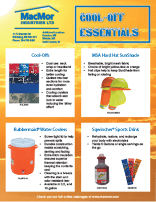 Picture for MacMor - Cool-off Products Flyer