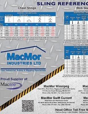 Picture for MacMor - Sling Reference Chart