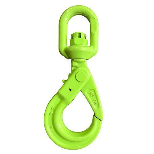"Picture of Macline 3/8"" Grade 100 Swivel Self-Locking Hooks"