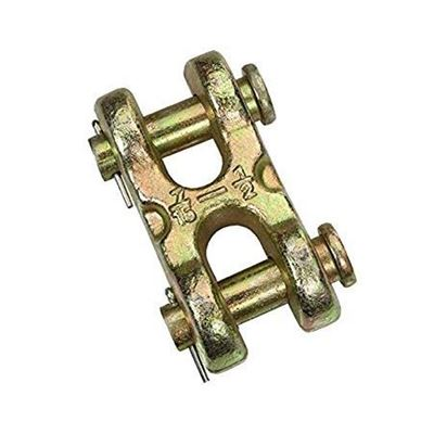 "Picture of Macline 7/16"" - 1/2"" Grade 70 Double Clevis Links"