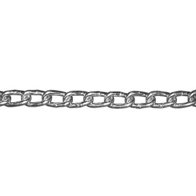 Picture of Macline Size 4 Zinc Plated Twist Link Machine Chain - 100' Reel