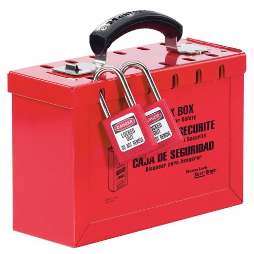 Picture of Master Lock Model 498A Latch Tight™ Portable Group Lock Box