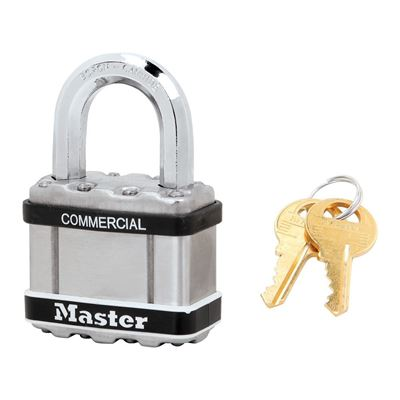 Picture of Master Lock Model M5STS Commercial Magnum Laminated Steel Padlock