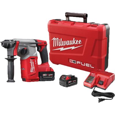 """Picture of Milwaukee® M18™ FUEL 1"""" SDS Plus Rotary Hammer Kit"""