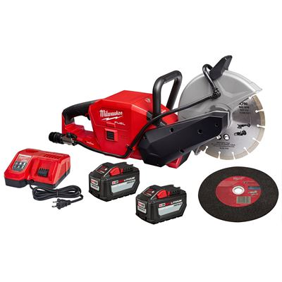 "Picture of Milwaukee® M18 FUEL™ 9"" Cut-Off Saw Kit with ONE-KEY™"