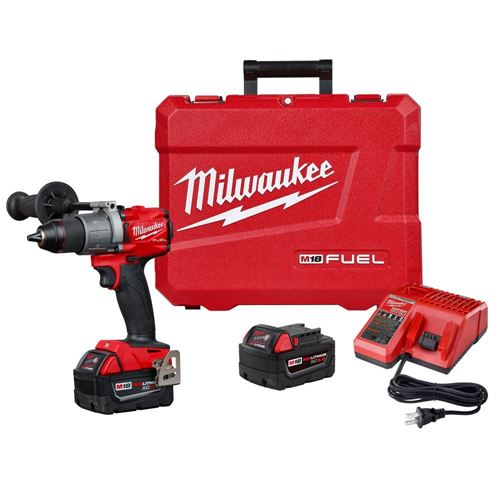 "Picture of Milwaukee® M18 FUEL™ 1/2"" Hammer Drill/Driver Kit"