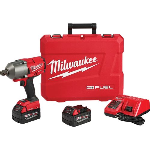 """Picture of Milwaukee® M18 FUEL™ High Torque 3/4"""" Impact Wrench Kit with ONE-KEY™ and Friction Ring"""