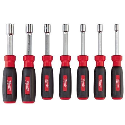 Picture of Milwaukee® Hollow Shaft S.A.E. Nut Driver Set - 7 Piece